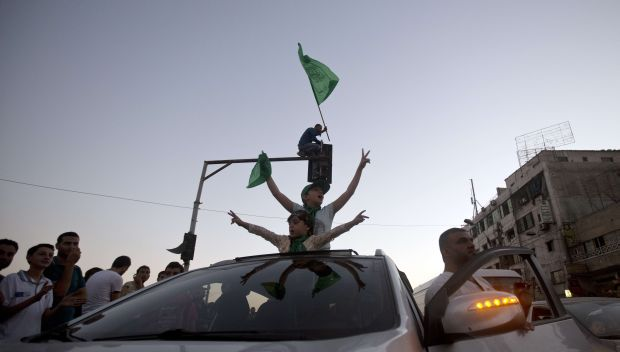 Gaza ceasefire takes effect as Palestinians celebrate