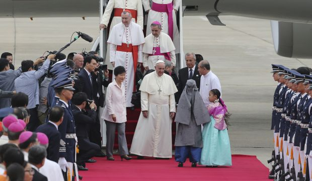 China blocks travel by some for South Korea papal visit: organiser