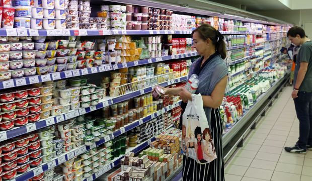 Russia hits back on sanctions, bans food from West