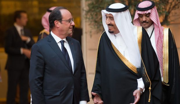 Saudi Crown Prince discusses regional security with French president