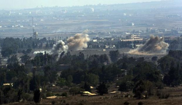 Fighting continues on Golan Heights