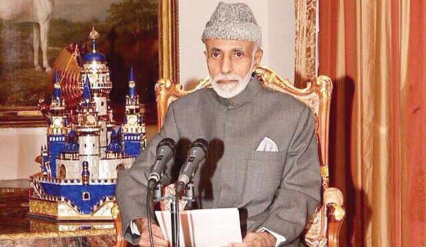 Oman's Sultan Qaboos gives televised address to combat health rumors