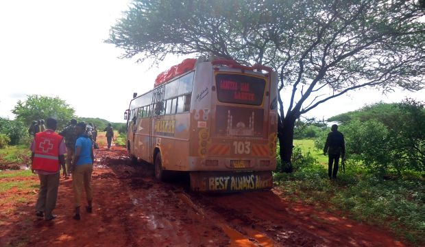 Kenya says over 100 attackers behind bus ambush killed