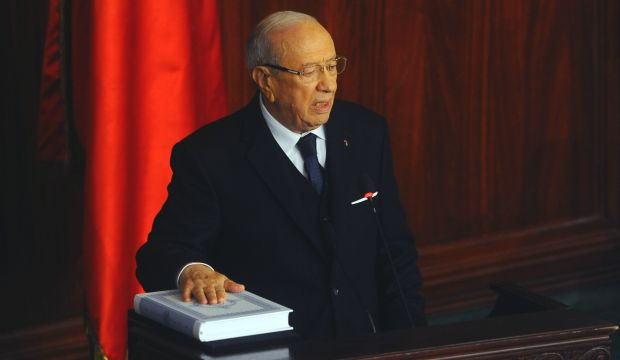 Tunisia's new president pledges reconciliation