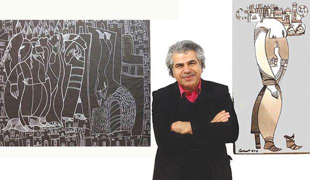 Kurdish painter Rebwar Saeed on his colorful career