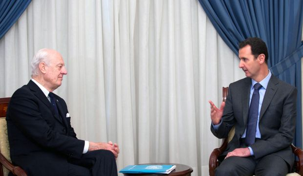 UN envoy says Assad part of solution for easing Syria violence