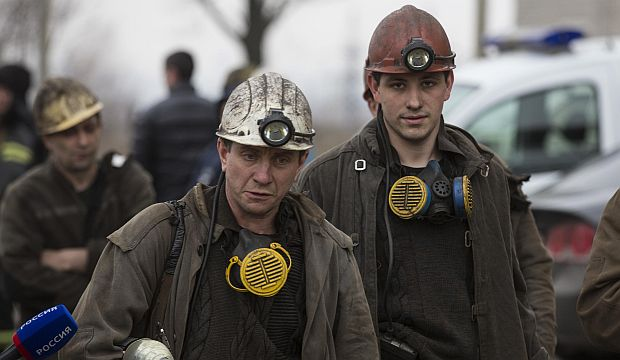 More than 30 killed in coal mine blast in east Ukraine