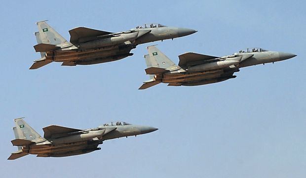 Saudi airstrikes target rebel bases in Yemen