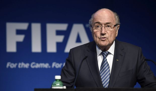 Blatter stands down as FIFA president