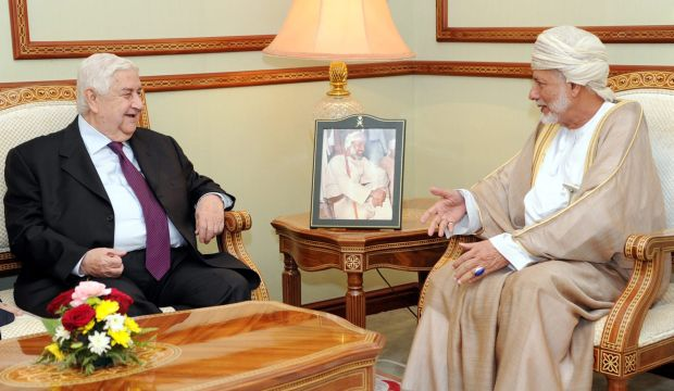 Syrian FM in rare Oman visit amid heightened diplomacy