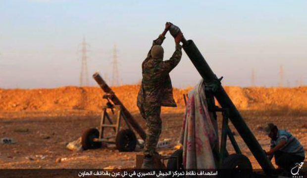 ISIS makes gains near Syrian city of Aleppo; US abandons rebel training program