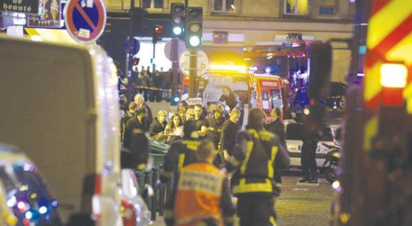 A Bloody Night in Paris: Explosions, Shootings and Hostages