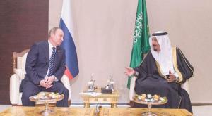 King Salman and President Putin