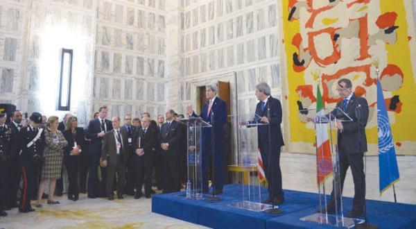 International Pressure on Libyan Peace Agreement
