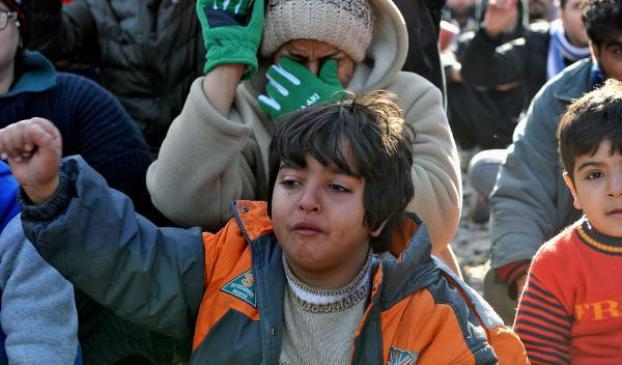 Refugee influx aggravates social tensions