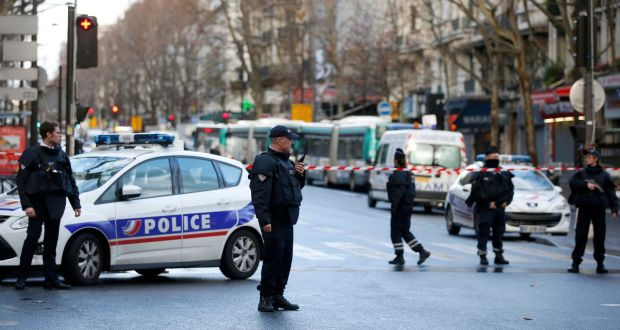Man with Knife Shot Dead at Paris Police Station