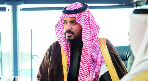 Deputy Crown Prince Check Conditions in Military Regions