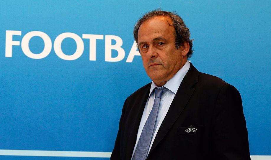 Platini Bids FIFA Presidency Farewell