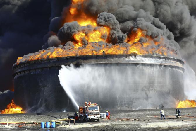 Libya's NOC Warns of More ISIS Attacks on Oil Facilities