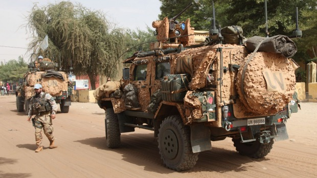 Suspected Militants Attack U.N. Base in Mali