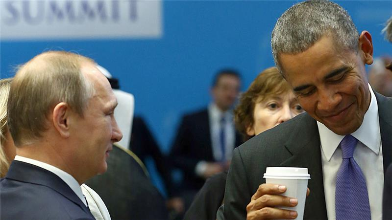 Obama Calls Putin to Stop Aerial Strikes on Syrian Opposition Forces