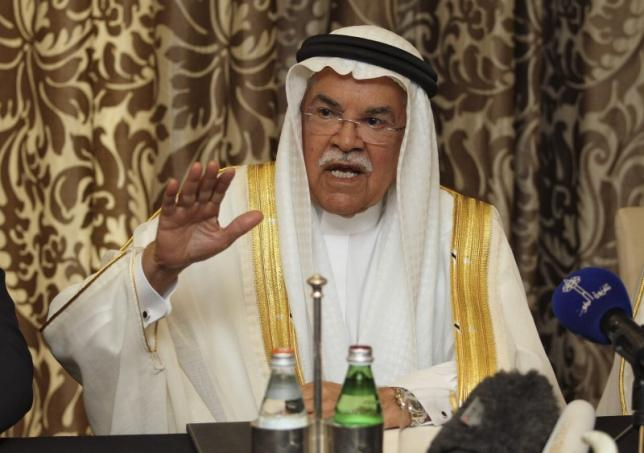 Saudi's Naimi Sees Output 'Freeze' Expanding