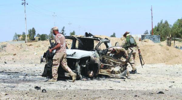 Iraqi Forces Gain Foothold, Local Police Secure Ramadi