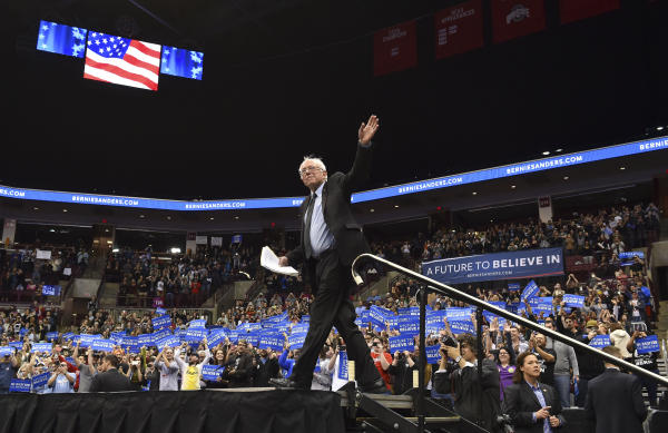 Bernie Sanders: Quitting Race Would Be 'Outrageously Undemocratic'