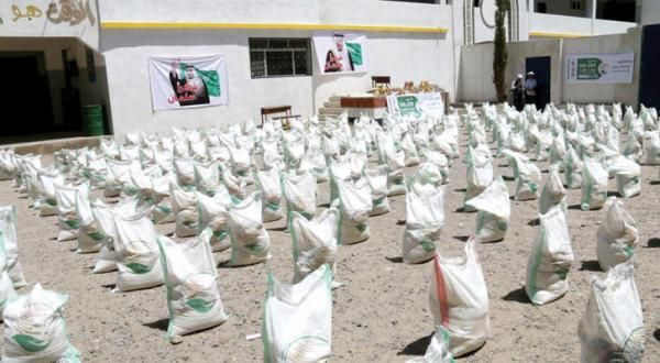 King Salman Centre for Relief Distributes 20,000 Food Parcels in Taiz After the Siege is Broken
