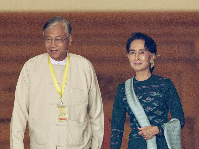 Historic Elections in Myanmar Bring First Civilian President in Decades