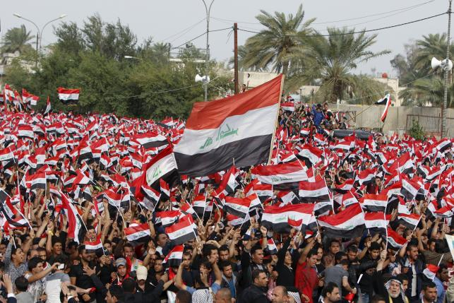 Al-Sadr Iraqi Cleric Says Supporters' Protests Meant to Help Reforms