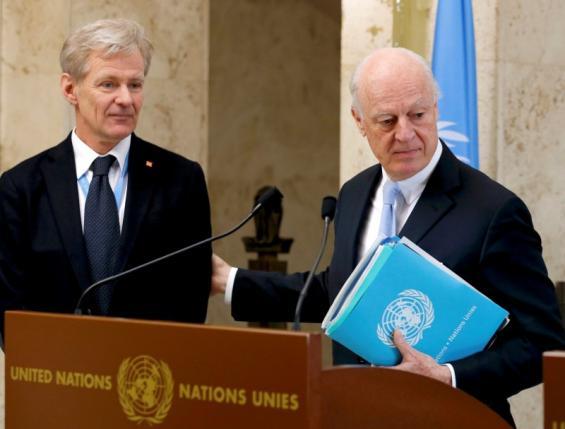 Syria Peace Talks Stagger, U.N. Envoy Says