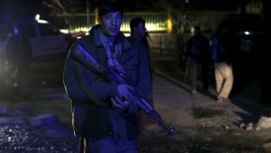 Afghan security forces member