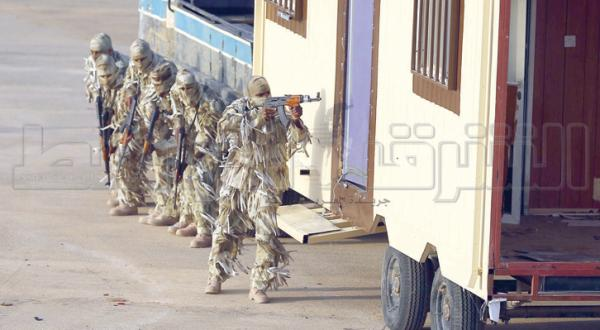 "Saudi Crown Prince Patronizes Tactical Exercise ""Sawlat Al-Haq 8"""