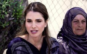 Jordan's Queen Rania Calls for Legal Refugee Route to Europe