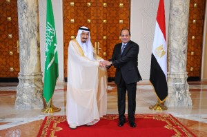 King Salman announces Saudi-Egypt bridge in rare Cairo visit, Reuters