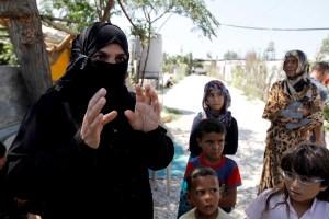 Syrian refugees in Saadnayel in Lebanon's Bekaa Valley,Mohamed Azakir, Reuters