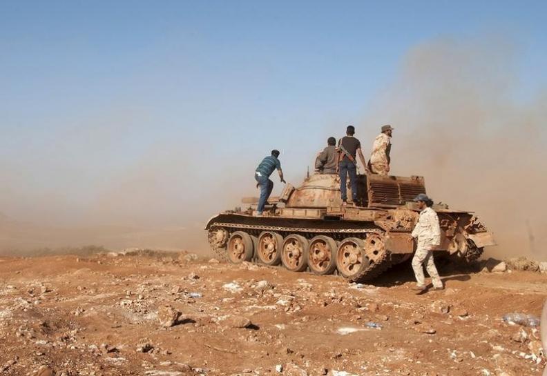 ISIS in Retreat around East Libyan City Derna