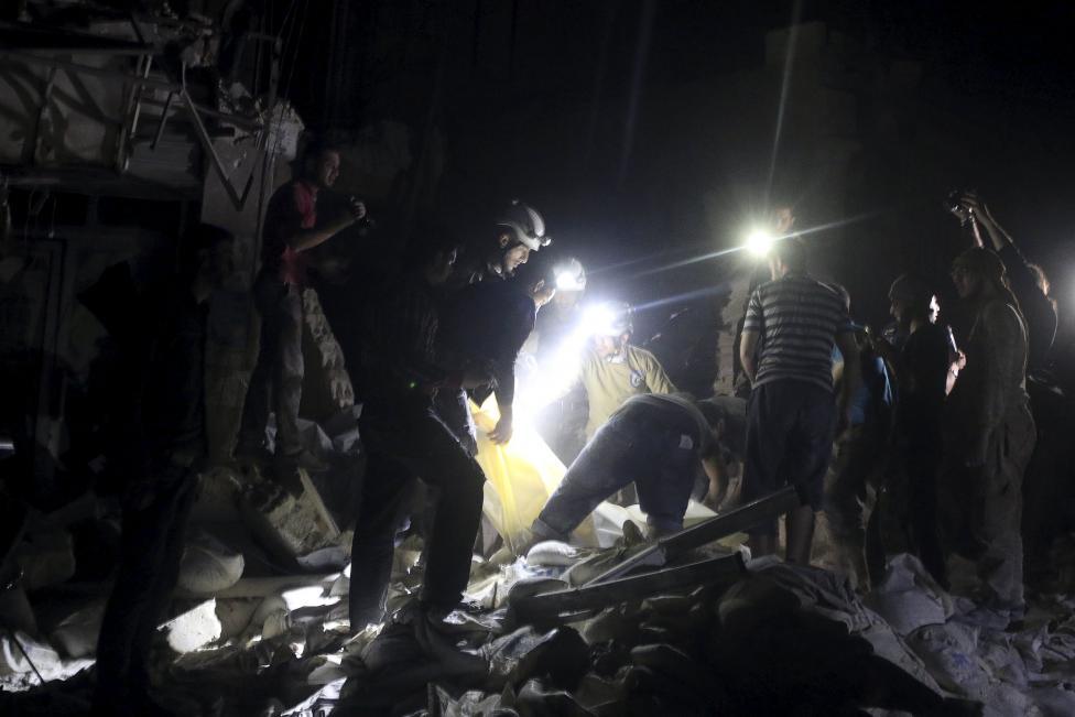 Airstrikes on Aleppo Hospital Kill 20 – Observatory