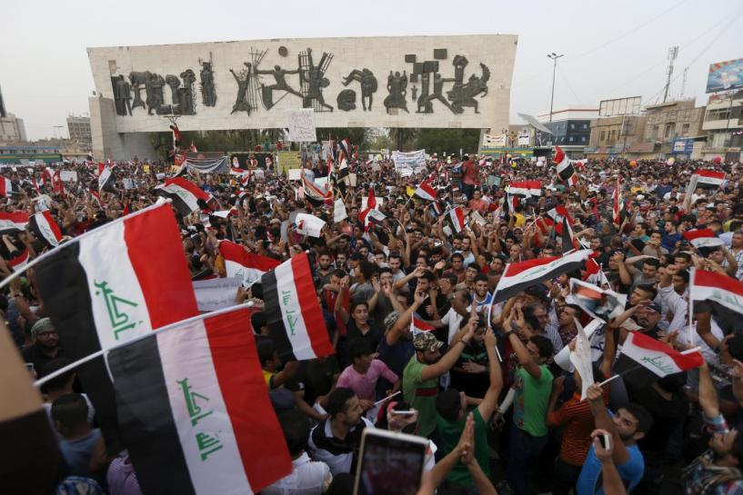 Protesters Amass in Central Baghdad to Demand Cabinet Reshuffle Vote