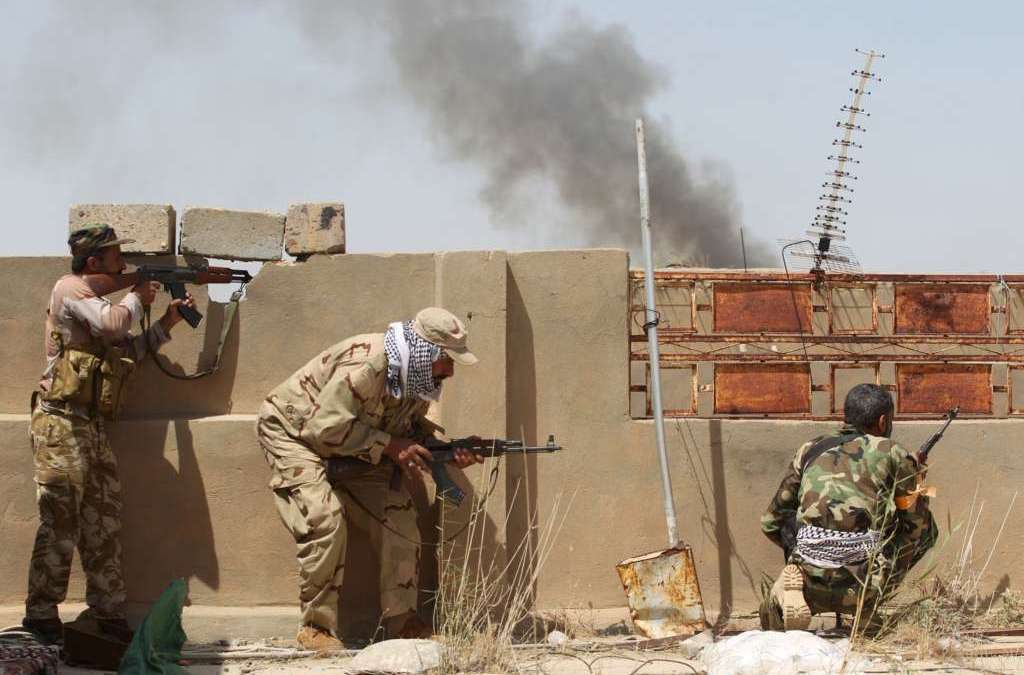 International Coalition Halts Advance of PMF towards Fallujah