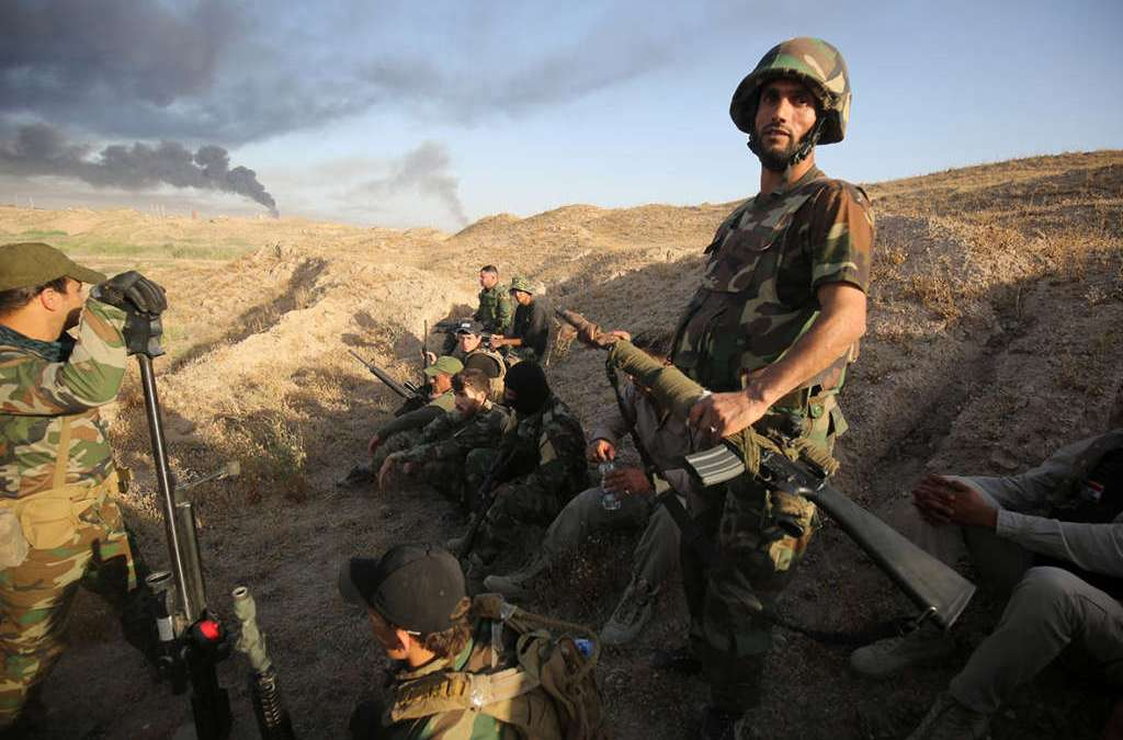 Waylaid in Fallujah, ISIS Reopens Hit Battlefront