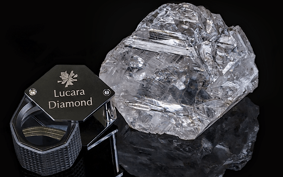 Diamond the Size of a Tennis Ball Could Sell for $70 Million