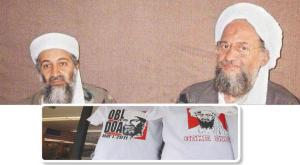 Osama bin Laden and his successor, the current leader of al-Qaeda Ayman al-Zawahiri