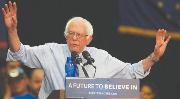 Sanders Calls Democratic Delegates to Support Him in Facing Clinton
