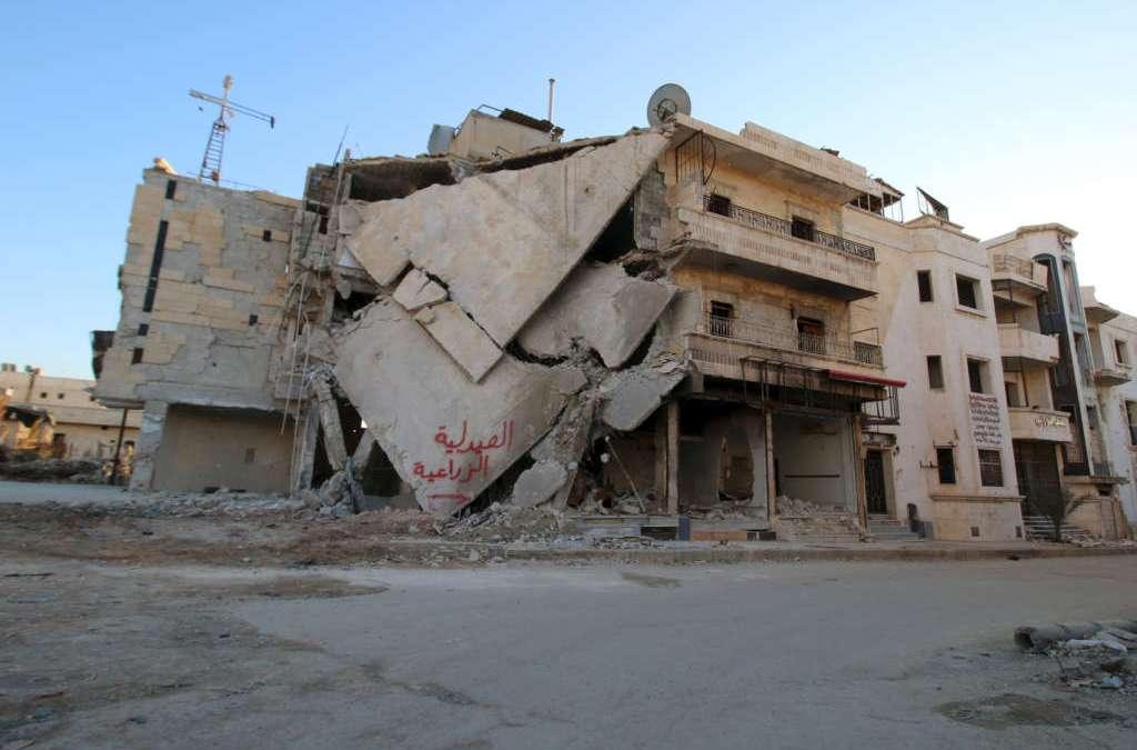 Syria Rebels Seize Village Near Aleppo, Assad Forces Deny Targeting Camp