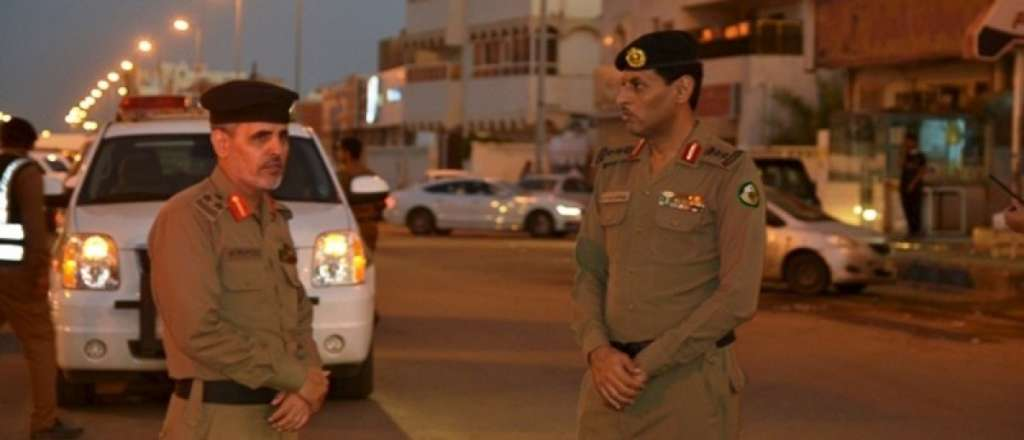 Saudi Security Operation against ISIS Militants in Mecca