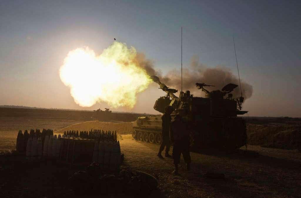 Israel Strikes Hamas Targets in Gaza as Violence Flares along Border