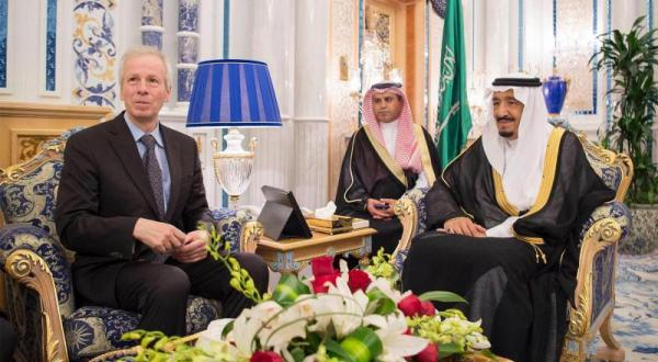 King Salman Meets the Canadian Foreign Minister in Jeddah