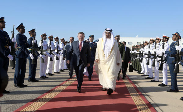 Crown Prince of Abu Dhabi Discusses Strategic Relations with King Abdullah